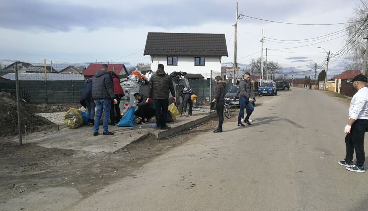 """Foto & Video acțiune """"Curățăm Ștefănești"""""""